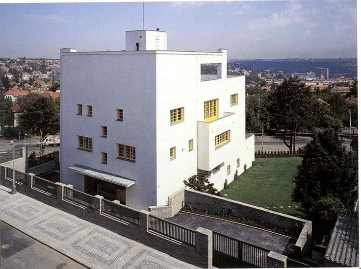 Adolf loos villa m ller architecture pinterest for Villa wedel