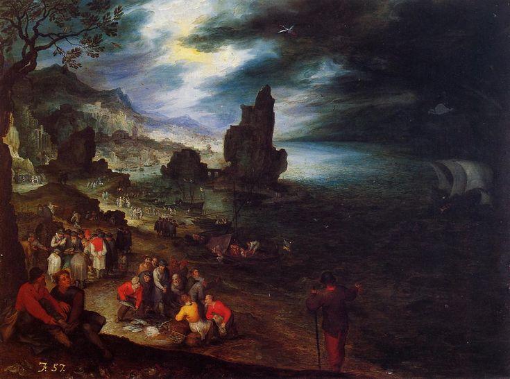 Baroque painting analysis