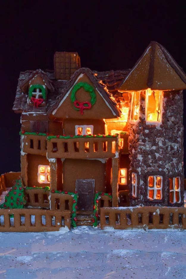 79 Best Images About Gingerbread Houses On Pinterest