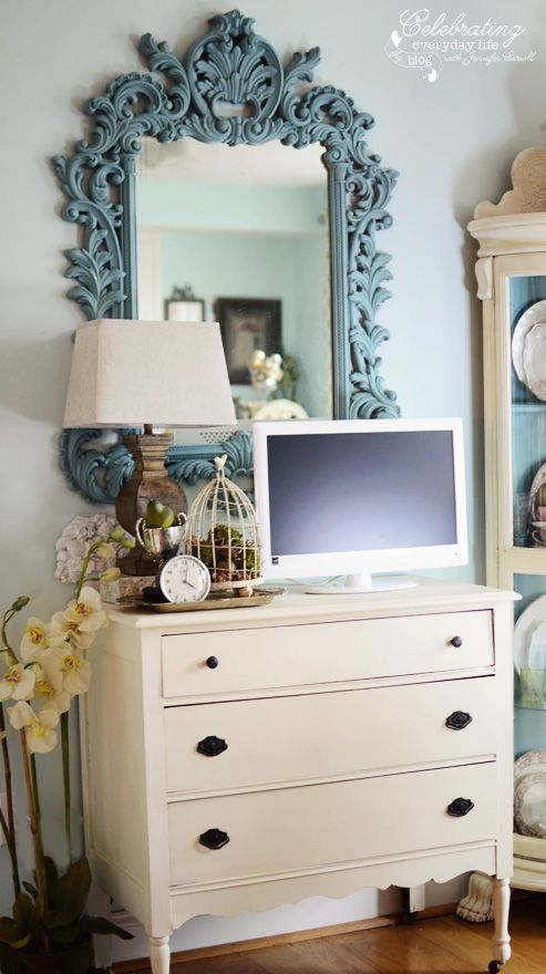 25 best ideas about antique chest on pinterest antique for Dining room mirror ideas