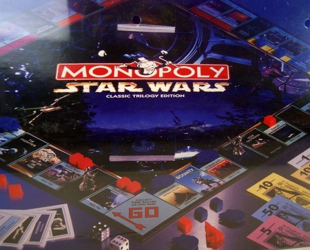 star wars monopoly instructions