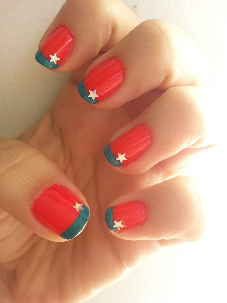 Inspire While Creating: Wonder Woman Nails. Nail art.