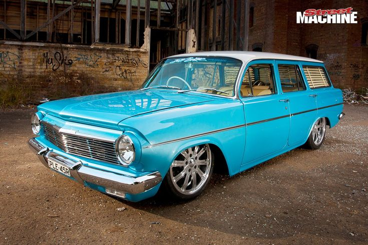 Paul Beauchamp's stroked and injected V8 EH Holden wagon is as cool as they come