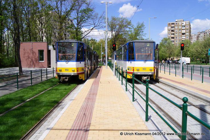 950 + 953 Szeged Európa ligét 20.04.2012 - (ČKD) Tatra B6A2