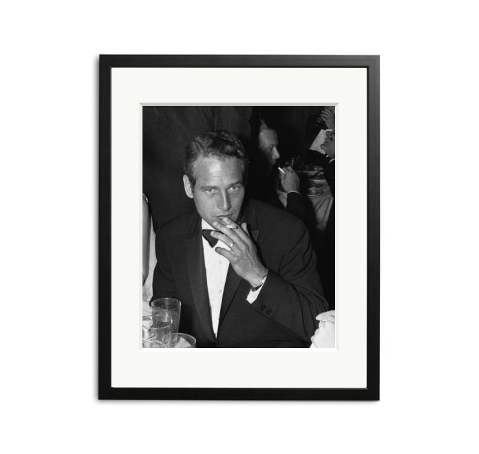 American film actor Paul Newman at the Oscars award ceremony in Hollywood.