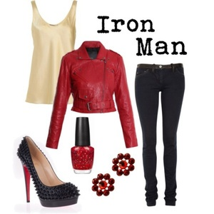 Marvel-inspired outfits!! :)