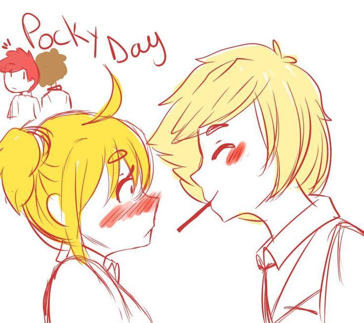 """Kai #FNAFHS on Twitter: """"mejor tarde que nunca XD #FNAFHS #Pockydayfnafhs Pocky Day foxy: FUCK OFF!! golden: porque siempre tienes que arruinarlo?! https://t.co/YJaObwk0Ge"""""""