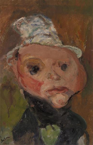 Chaim Soutine - The White Hat (Le Chapeau blanc)