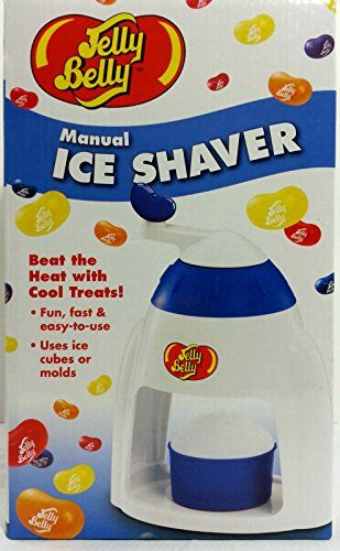 Jelly Belly Manual Crank Ice Shaver Snow Cone Slushy Maker >>> You can get additional details at the image link. #IceCreamMachines