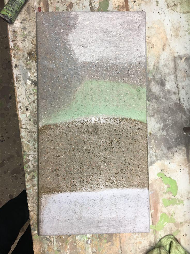 Concrete surface treatements
