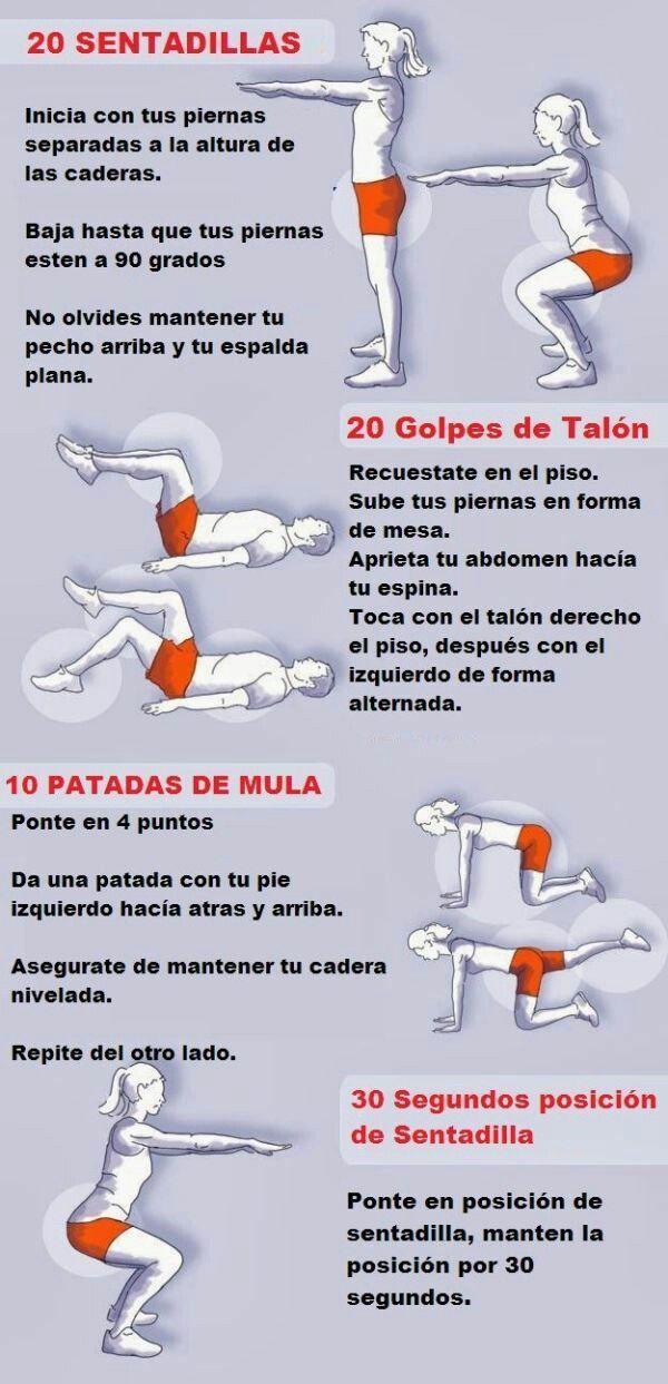 Descubre los 10 ejercicios para glúteos que transformarán completamente tu cuerpo. #Ejercicio #Gluteos #Verano