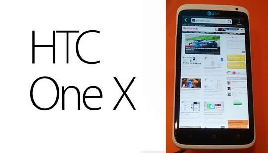 Análisis HTC One X. Características teléfono celular HTC One X | Review
