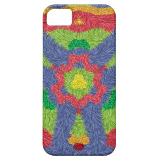 Colorful furry pattern iPhone 5 covers