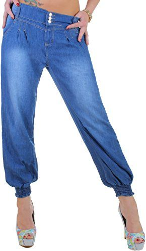 85797be466b9ba Black Denim Damen Jeans Hose Pump-Pluder-Hose 40/L (M-239) | Jeans ...