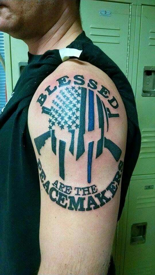 66 best images about law enforcement tattoos on pinterest punisher skull tattoo thigh tattoos. Black Bedroom Furniture Sets. Home Design Ideas