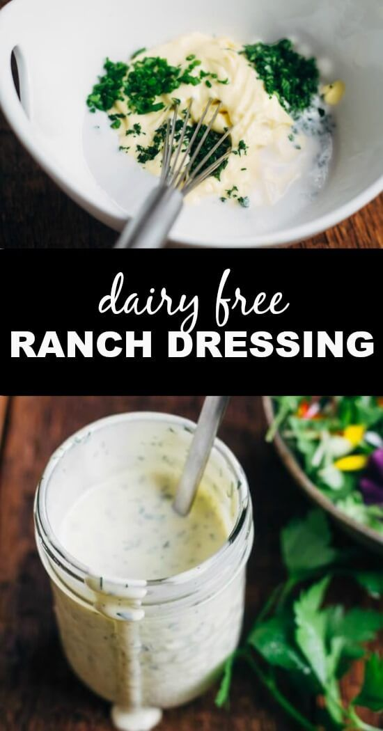 A creamy, garlicky dressing made from all real food ingredients. So easy!