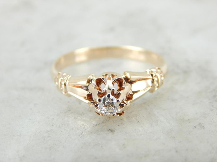 gleaming antique victorian engagement ring - Victorian Wedding Rings