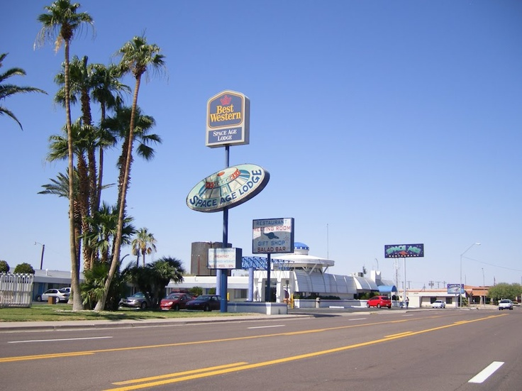 E Age Motel Gila Bend Az Another View Of The Restaurant Hotel Where I Worked Summer 85 Perks An Air Force Brat Pinterest