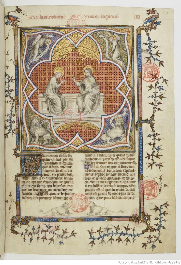 Traduction française par Jean de Vignay de la Légende dorée de Jacques de Voragine | Gallica
