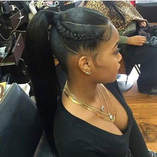Fly Ponytail: Because Sometimes Simplicity Speaks Volumes - http://community.blackhairinformation.com/hairstyle-gallery/weaves-extensions/fly-ponytail-sometimes-simplicity-speaks-volumes/