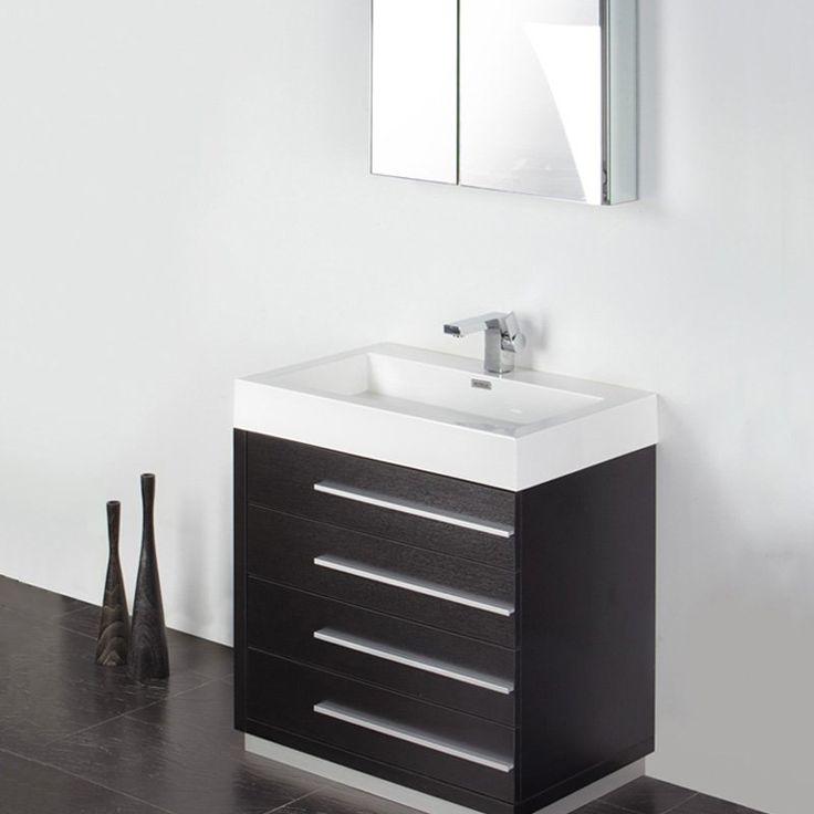 buy fresca livello modern bathroom vanity u0026 medicine cabinet from fresca