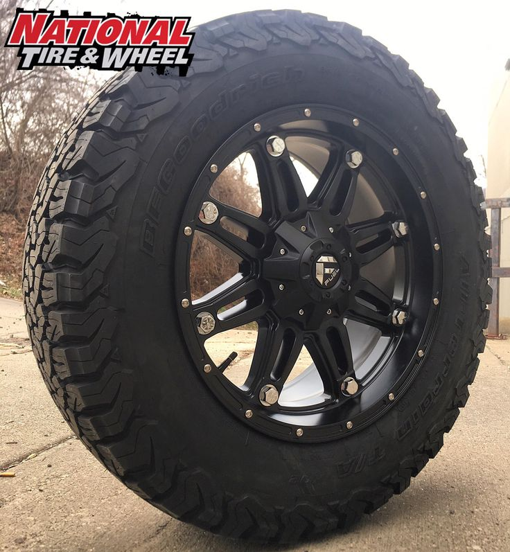 "20X9 Fuel Hostage / 285X65R20 BFG KO2. Click the ""Visit"" button above to begin building your own custom wheel and tire package where you will receive an immediate price quote. You can also head over to ntwonline.com to see our entire selection plus prices, or you can call (800) 847-3287 to speak to a Sales Rep."