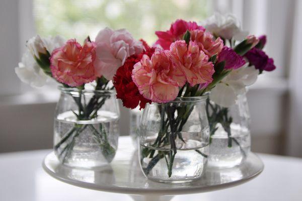 ... des pots en verre  Bocaux de verre, Décoration mariage et Vase boule