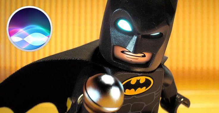 Siri nasconde un easter egg legato al film The LEGO Batman Movie [Video]
