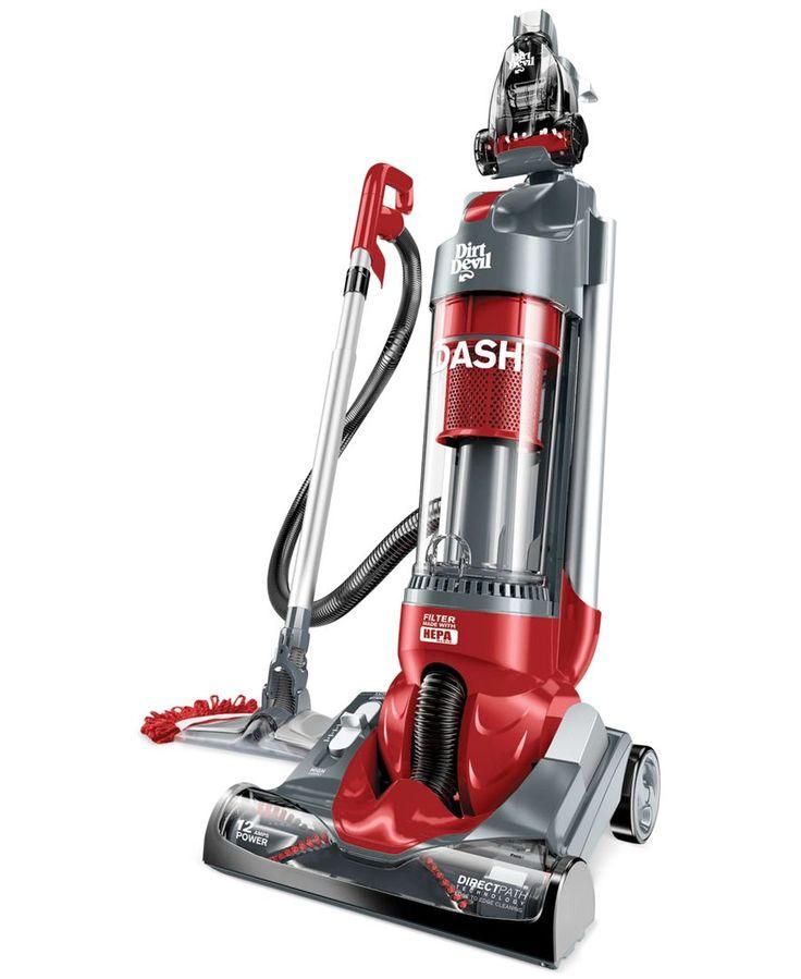 Dirt Devil Dash Upright Vacuum with Vac Dust Floor Tool