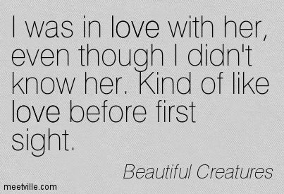 My favourite Beautiful Creatures Quote