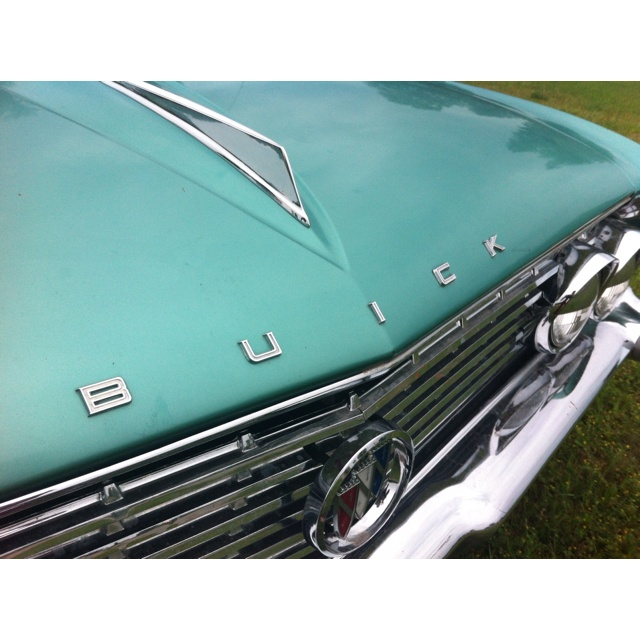Exterior: Color inspiration - blast from the past! - Vintage Buick Le Sabre #pinmyencore