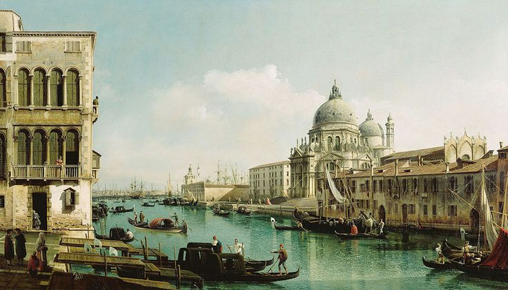 "Bellotto Bernardo - Bolshoi Channel And Dogana In Venice 1740 Getty  (from <a href=""http://www.oldpainters.org/picture.php?/45940/category/15206""></a>)"