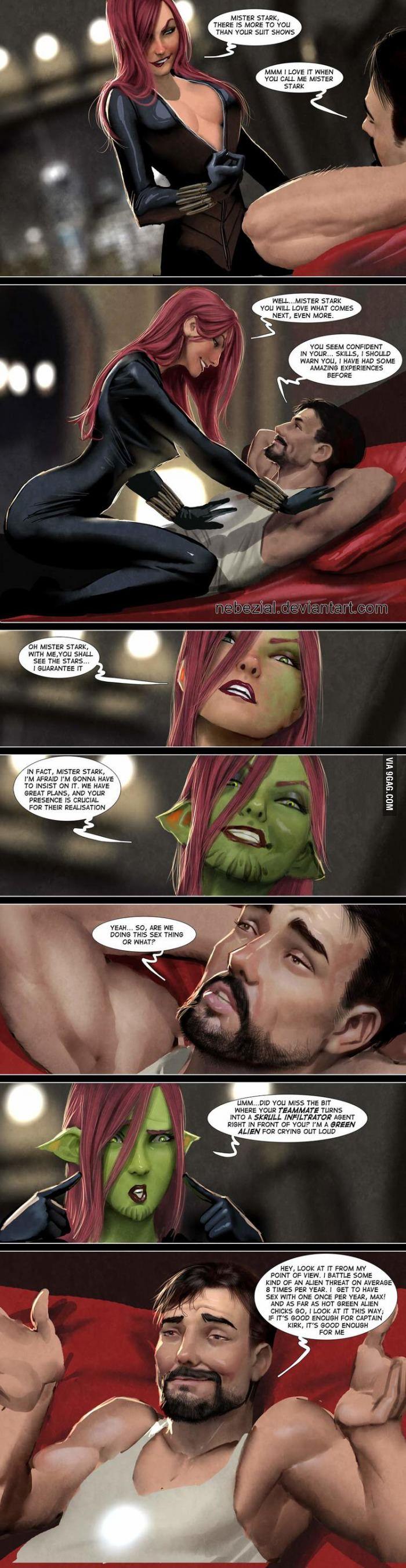 Tony Stark Likes All The Ladies