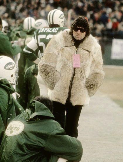 Broadway Joe Coat | Joe Namath Fur Coat