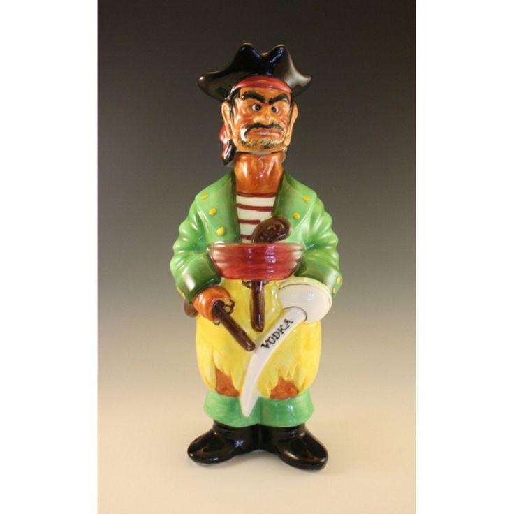 1960 Swank Japan Ceramic Capt Flood Pirate Ceramic 11