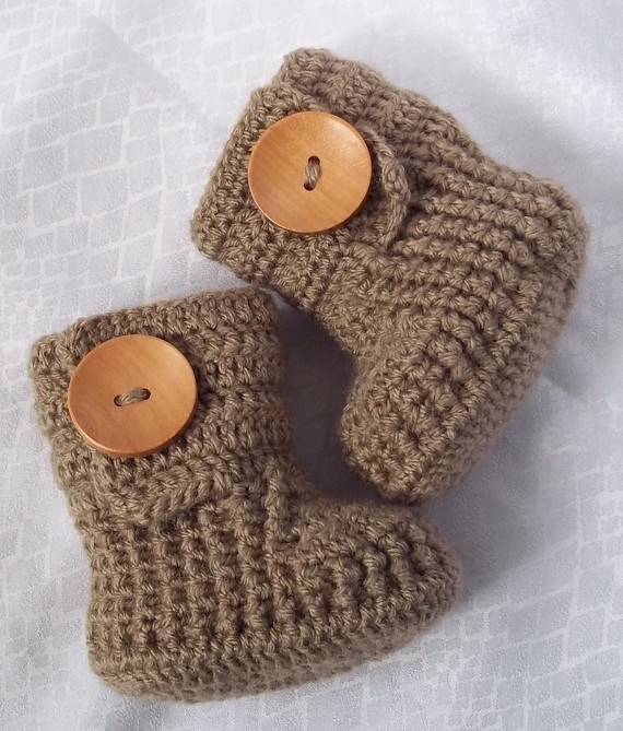 crochet baby booties @Mary Powers Powers Powers Powers Powers Powers Powers Powers Jean Collier can we try these skyping with Merissa???  Maybe next week!