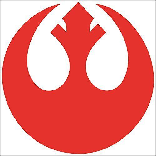 "Cove Signs 148 Star Wars - Rebel Alliance Symbol Die Cut Premium Vinyl Decal - Red 4"" #Cove #Signs #Star #Wars #Rebel #Alliance #Symbol #Premium #Vinyl #Decal"