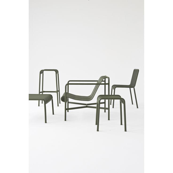 Palissade loungestol låg, olive – Hay – Köp online på Rum21.se