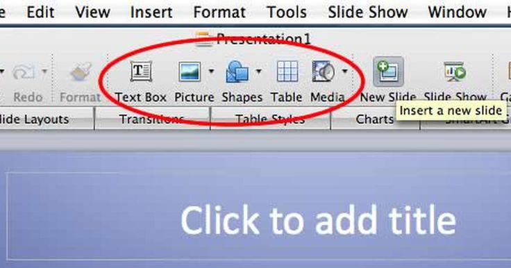 Cómo editar una presentación con diapositivas en PowerPoint. Microsoft PowerPoint viene incluido en la biblioteca de programas de Microsoft Office Suite y se usa para crear presentaciones con diapositivas. Para editar una presentación de PowerPoint, ésta debe estar en ese mismo formato (.ppt or .pptx). Por ejemplo, no se puede editar en PowerPoint una presentación que se haya convertido a una película ...