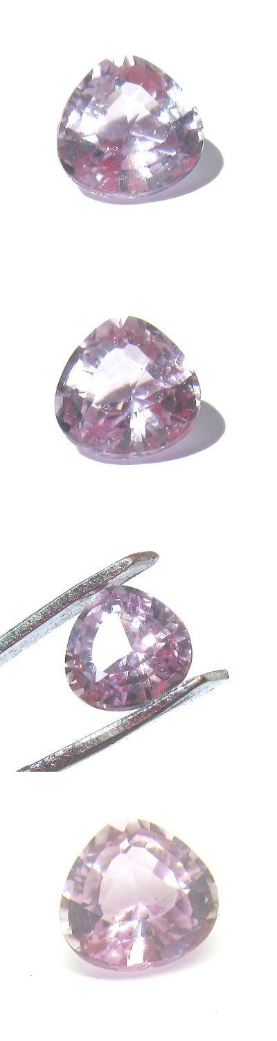 Kunzite 110798: Pink Kunzite 1.85 Cts Aa Trillion Cut Loose Facet Brilliant Color Gemstone 107A BUY IT NOW ONLY: $119.99