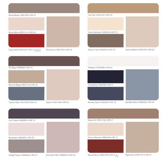 1000 ideas about paint color chart on pinterest paint for Interior house paint color chart