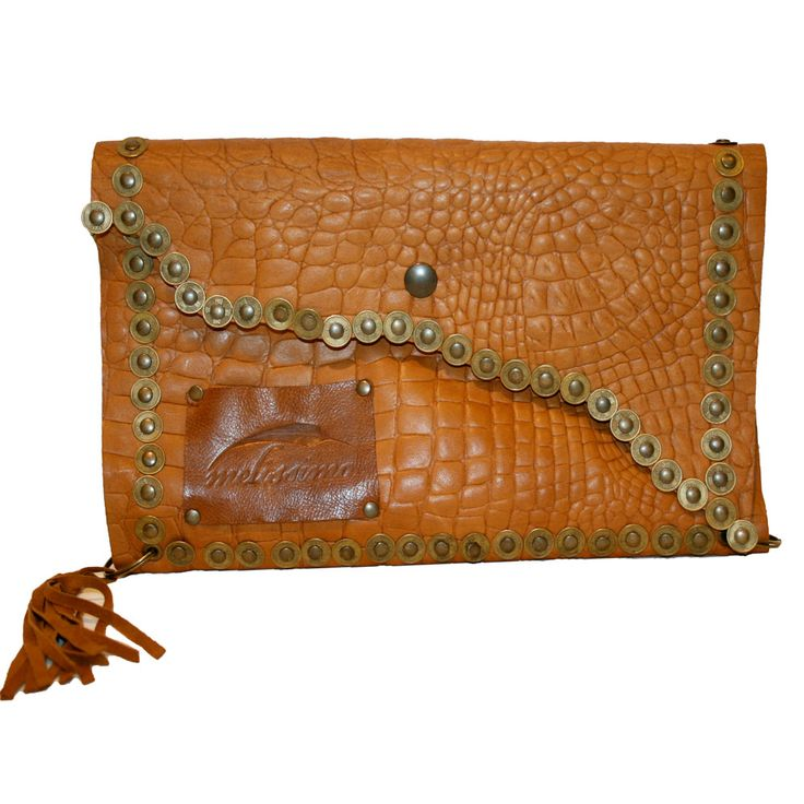 VIDA Leather Statement Clutch - Witchy Woman by VIDA