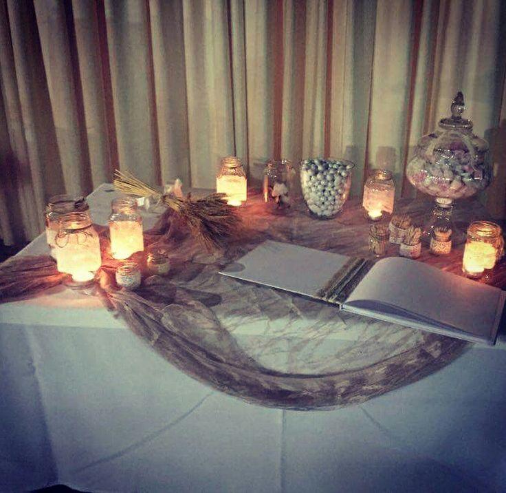 Τραπέζι ευχών wedding