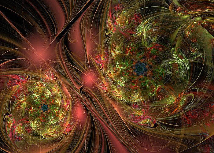Colour worlds by Mary Raven #MaryRaven #abstraction   #flowers #space #ArtForHome #FainArtPrints