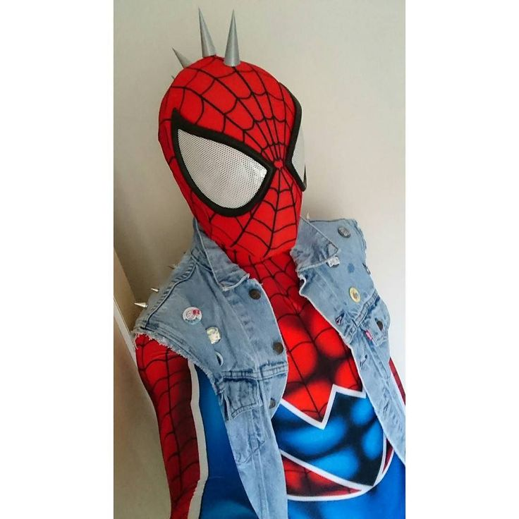 Comic style Spider-punk Pattern by Spider Bite Designs ...