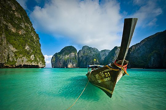 Koh Phi Phi Don, one of our favorite places in Thailand