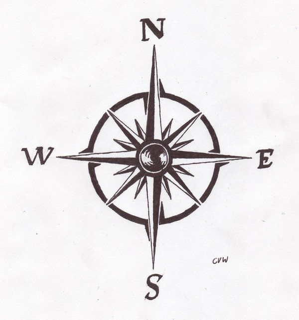 compass tattoo template - Google zoeken