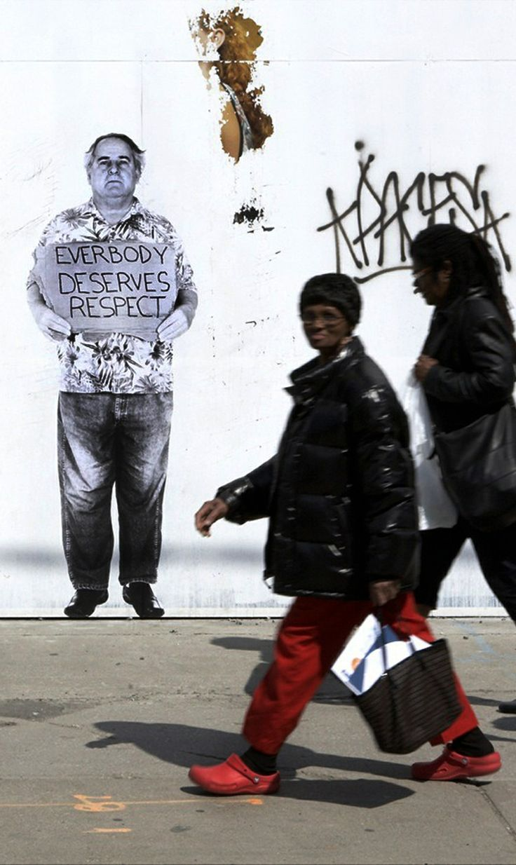 "by Fauxreel - Wayne Halse, ""The Unaddressed"" addresses homelessness in Toronto -  Found on www.brooklynstreetart.com"