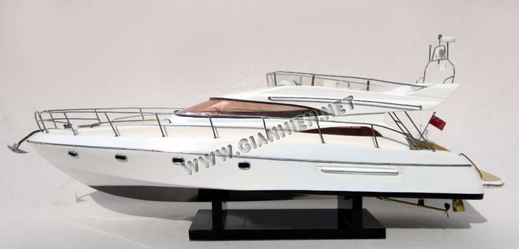 Princess 56 model yacht