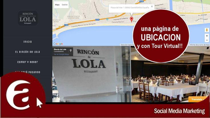 Una web a medida debe tener por lo menos: una página de Bienvenida una página de producto una página de ubicación y una página de contacto. #aninchi #SocialMedia en #Castelldefels
